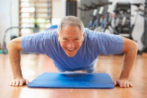 Medicare Recipient Exercising