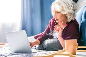 Older woman comparing medicare supplement plans