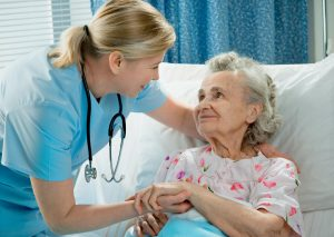 Doctor Telling patient about observation care and why she wont be admitted