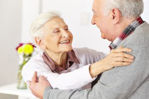 Being healthy by smiling at each other, this is Active life is all about