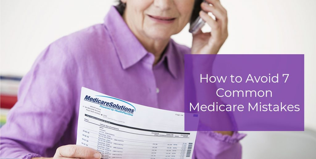 Common Medicare Mistakes