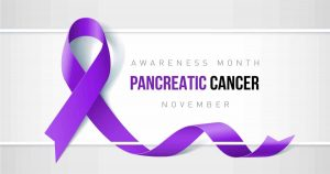 Pancreatic Cancer Awareness Ribbon Photo
