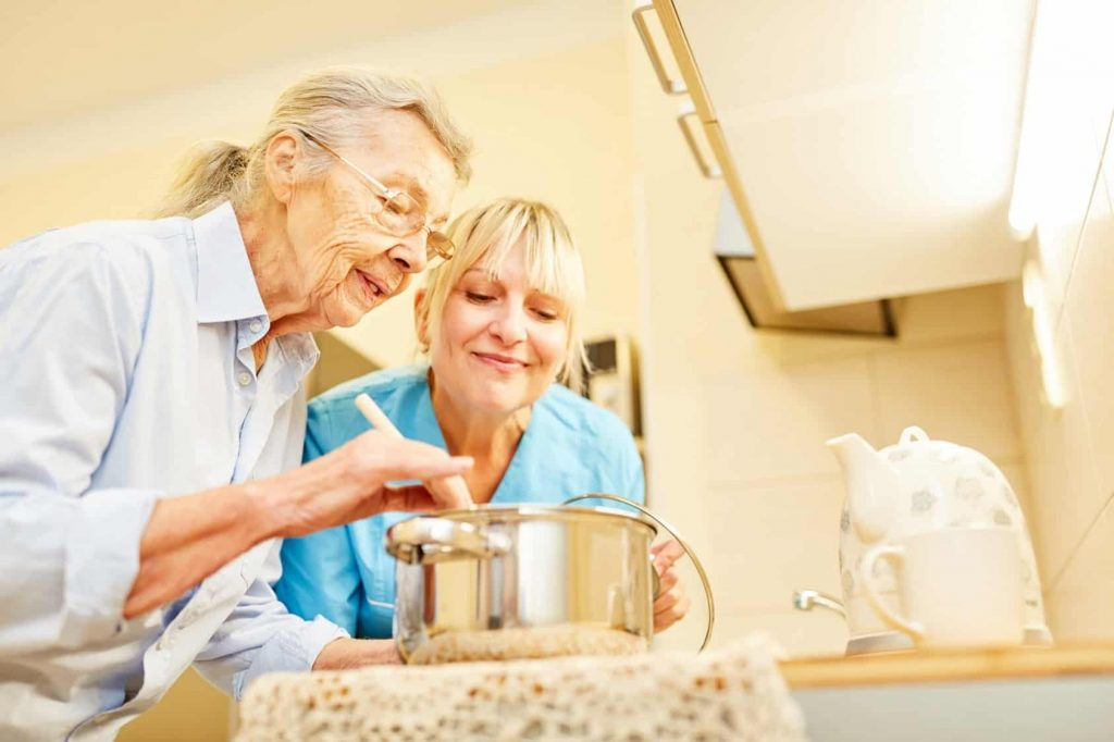 long-term care for activities of daily living